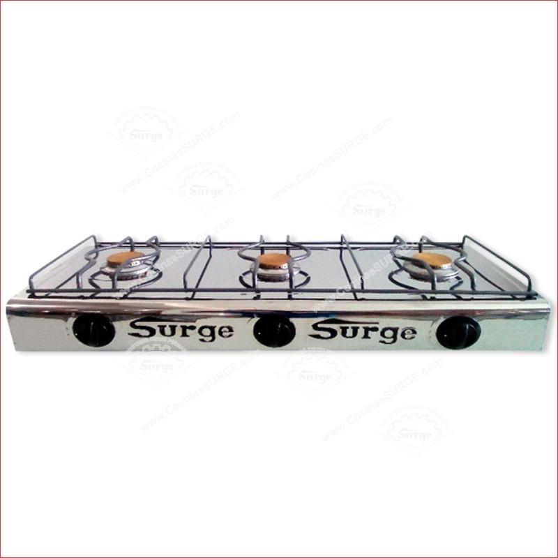 Cocina original surge zafiro iii sin tapa mesa cocinas surge for Cocinas industriales surge