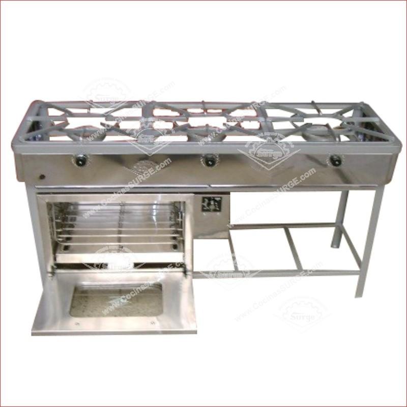 Cocina surge original industrial mod ii ac cocinas for Cocinas industriales surge