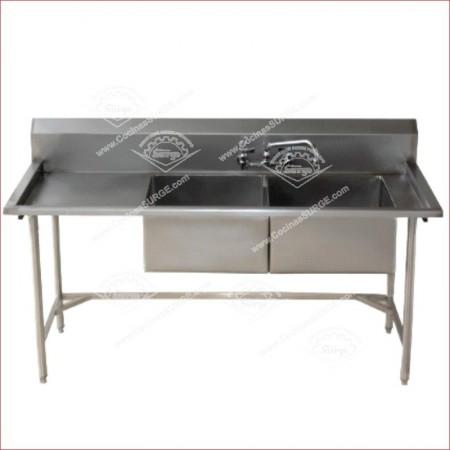 Mesas y lavaderos cocinas surge for Pozas para cocina