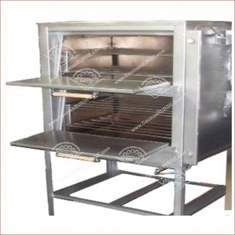 Horno en acero surge pizzero 02 cocinas surge for Cocinas industriales surge